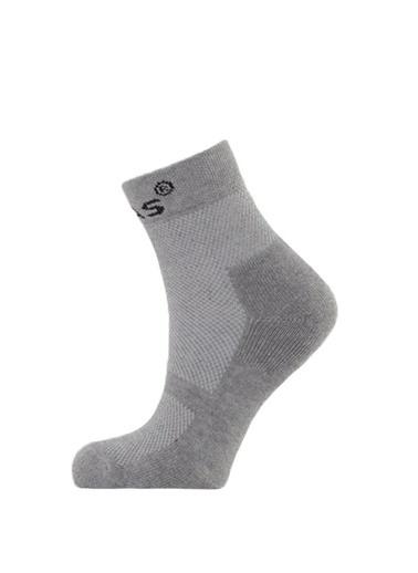 2AS Spor Çorap Gri